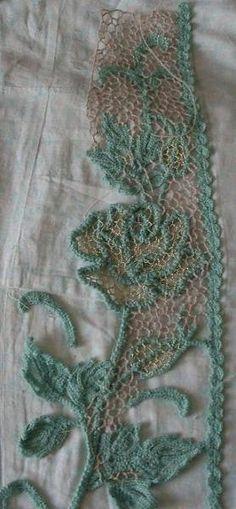 crochet lace edging @ Af 1/1/13