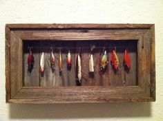 Fishing Lure Display Case by arustictouch on Etsy