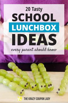 Looking for easy school lunch box ideas for kids with back-to-school around the corner? Creative lunch ideas for kids aren't always easy to come up with but The Krazy Coupon Lady has you covered. If your kids are getting sick of the same school lunch ideas over and over, these are the lunchbox hacks and ideas you need! Butterfly Snacks, Pb And J Sandwiches, Cheese Packaging, Frozen Grapes, School Lunch Box, Easy Chicken Recipes, Fresh Fruit, Food Hacks, Cooking Tips