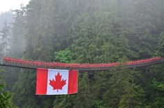 100 Mounties on a suspension bridge for Canada's . Browse new photos about 100 Mounties on a suspension bridge for Canada's . Most Awesome Funny Photos Everyday! Because it's fun! Canadian Memes, Canadian Things, I Am Canadian, All About Canada, Meanwhile In Canada, Canada 150, The Great White, Suspension Bridge, Holiday Travel