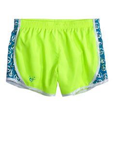 Pattern Insert Running Shorts   Active   Shorts   Shop Justice