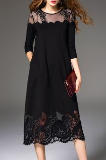 Join Dezzal, Get $100-Worth-Coupon GiftLace Spliced Midi DressFor Boutique Fashion Lovers Only: Designer Collection·New Arrival Daily· Chic for Every Occasion