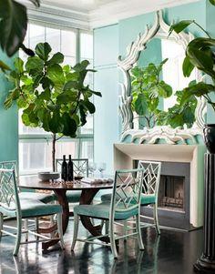 Designer Veronica Swanson Beard's Manhattan Penthouse / Harper's Bazaar