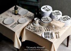 Blah Since I Know: Introducing, Nunu's House! Mini Kitchen, Miniature Kitchen, Miniature Food, Miniature Dolls, Kitchen Shop, Miniature Houses, Polymer Clay Miniatures, Dollhouse Miniatures, Dollhouse Ideas