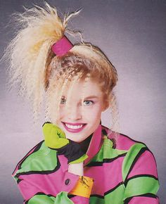Come on… Be a hot shot! 80s Makeup, Hair Makeup, 90 Party, 80s Party Costumes, 80s Costume, 80s And 90s Fashion, Crimped Hair, Jem And The Holograms, 80s Aesthetic