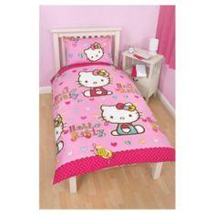 Buy Hello Kitty Folk Duvet Cover Set Single from our Duvet Covers range - Tesco.com