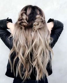 Hairstyles Ideas Formal 31 Best Trendy And Beautiful Twisted Rope Braid Blonde Hairstyle For Long Hair - Haircut Everythings About Gorgeous Twisted Rope Braid Hairstyle for You ! Romantic Hairstyles, Pretty Hairstyles, Braided Hairstyles, Hairstyle Ideas, Medium Hairstyles, Wedding Hairstyles, Braided Updo, Hairstyles For Fall, Braided Pigtails