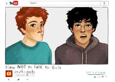 SparkLife » If Our Favorite Harry Potter Characters Had YouTube Channels