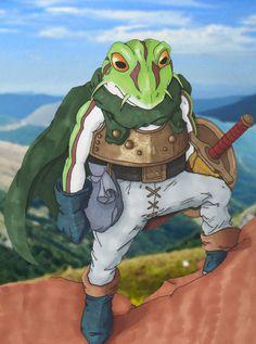 'Chrono Trigger - Frog' by Rhedrin.deviantart.com
