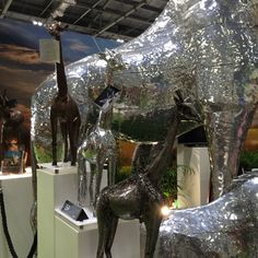 Grand Designs Live, Metal Sculptures, House Doctor, Recycled Materials, Recycling, Amazing, Interior, Home Decor, Decoration Home