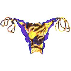 Rio De Sol Brazilian Bottom - Calcinha Piau (285 NOK) ❤ liked on Polyvore featuring swimwear, bikinis, bikini bottoms, yellow, bikini swimwear, nautical bikini, scrunch bikini bottoms, brazilian cut bikini and brazilian bikini bottoms