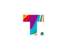 T goes traveling, logo design symbol by Alex Tass, logo designer ...
