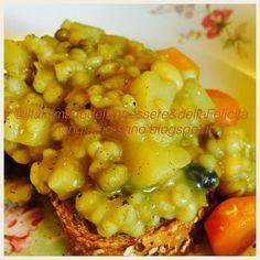 Zuppa di orzo e verdure alla curcuma - Costo 2 Euro