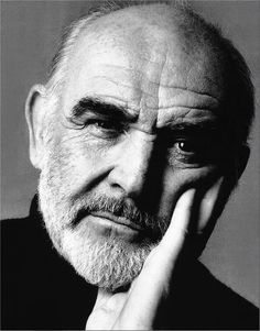 Sean Connery - Totally beautiful man. So distinguished.