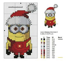 Cross stitch minion
