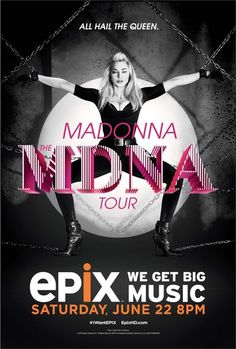 Looking good!   Madonna: The MDNA Tour