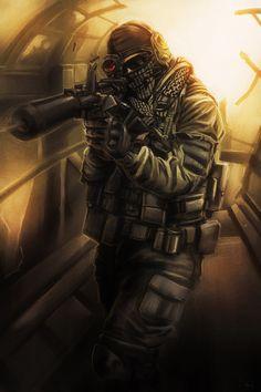 Call Of Duty Modern Warfare - Call Of Duty Modern Warfare Xbox Pre Order Advanced Warfare, Future Soldier, Arte Obscura, Call Of Duty Black, Gaming Wallpapers, Modern Warfare, Black Ops, Video Game Art, Military Art