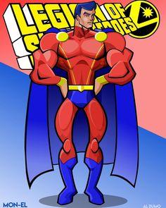 Comic Books Art, Comic Art, Lar Gand, Phantom Zone, Legion Of Superheroes, Dc Universe, Justice League, Supergirl, Iron Man
