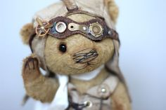 Christopher-steampunk-ooak-teddy-bear