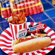 All American County Fair 4th of July Party {4th of July Celebrations}