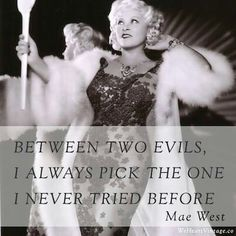 Mae west courtesan jester nearly a queen