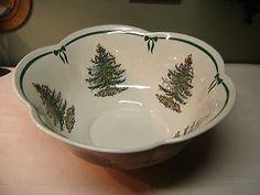 Spode Christmas Tree Punch Bowl | eBay