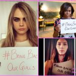 Cara Delevingne, Michele Obama, & Jessica Biel Join Bring Back Our Girls Campaign For Missing Nigerian Girls (Photos)