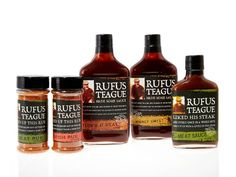 I happened across this line of sauces and rubs a few months ago and was so blown away by them, I had to find out more about this Rufus Teague guy and where he learned his stuff.
