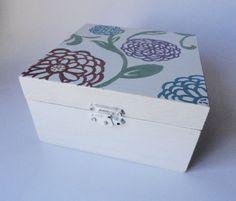 Painted Jewelry Bo Wooden 21 Birthday Stuff Ribbon Flower Ivory Soap Storage