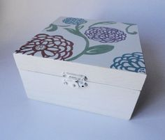 Wooden Jewelry Box , Jewelry Storage , Ring Box , Teen Room , Hand ...