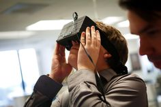 Oculus Rift Headset Aims for Affordable Virtual Reality