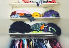 3 | Genius System Uses Magnets To Keep Your Clothes Perfectly Folded In Cramped Closets | Co.Design | business + design