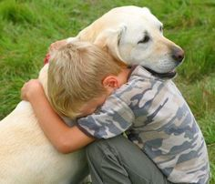 There are no words to describe the bond between a boy and his dog.