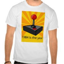 1984 is the year vintage video game t-shirt