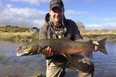 Iceland River Fossa salmon fishing. http://www.anglersworld.tv/world-game-fishing/iceland/