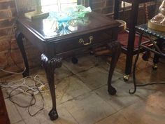 Heritage Lamp Table  - $125