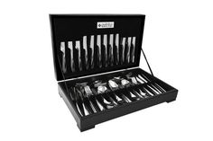 This stunning Manhattan styled cutlery set by Eetrite is a 112 piece and comes in a Wooden canteen carrier. Manhattan cutlery set is a 112 piece Cutlery Set, Online Shopping Stores, Happy Shopping, Frugal, Manhattan, Style, Swag, Budget, Outfits