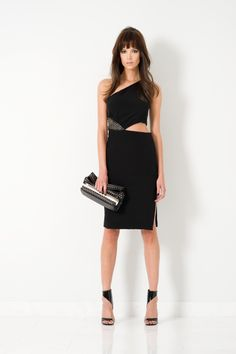 #TamaraMellon #Leather #LBD #shoe #CutOut #Fall2014