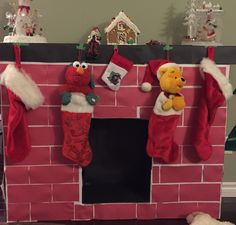 Cardboard boxes chimney