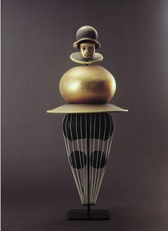 Oskar Schlemmer, Triadisches Ballett (Triadic Ballet), 1922. Costume by kraftgenie, via Flickr