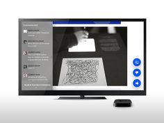 Behance for Apple TV
