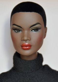 https://flic.kr/p/Cm1B7X | Number 6 - Best of 2015 | Out of Sight Nadja Rhymes. Such a sophisticated and modern doll with flocked hair. She is truly amazing.