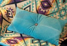 DIY home crafts DIY Diamond Wale Corduroy Pillow DIY home crafts