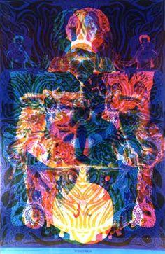 East Totem West #psychedelic poster. Masked Bath.