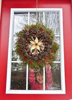 Beautiful wreath DIY