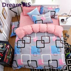 2016 New Origami Cranes Bedding Set Polyester Bed Sheet Cozy Duvet Cover Sets Bedspread Queen/Full/Twin Size Jogo de Cama