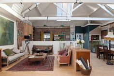 Converted Victorian printworks in Hastings