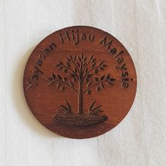 Seeking for something different?  KAYAN is open for custome-made orders. It can be ANYTHING wood related.  This is wooden badges - suitable for corporate event and weddings.  We design and provide samples for you at minimal cost.  To know more email us at admin@kayan.my or whats app 0123400089 to know more details.  Shipping worldwide.  #woodenbadges #corporategift #weddingbuttons #wedding #badges #unique #kayan #barangkahwin #corporateevent #weddingideas #ideas #wooden #lasercut…
