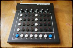 Multiword - Firmwares range from synth, over drum machine, to sequencer Interactive Media, Audio Music, Drum Machine, Gas Station, Music Stuff, Rotary, Product Design, Mixer, Drums