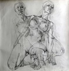 "Saatchi Online Artist: Simon Birch; Pencil, Drawing ""Untitled"""